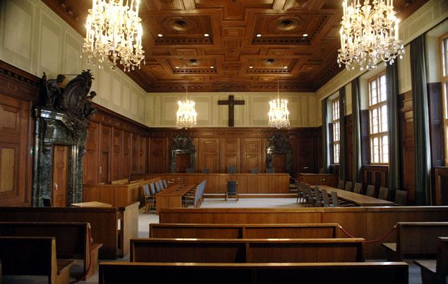 courtroom 600 memorium nuremberg trials