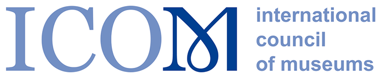 "Logo der Organisation ""International Council of Museums"" (ICOM)."